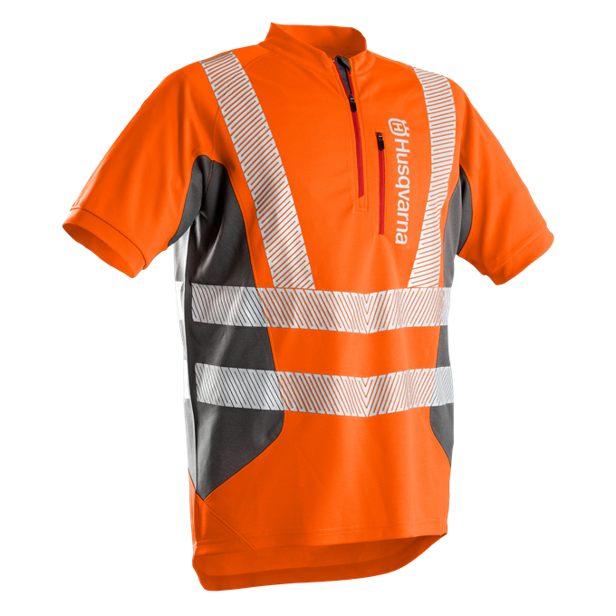 T-shirt a manica corta da lavoro Technical High Viz